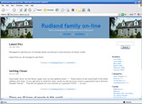 The Rudland Family on-line